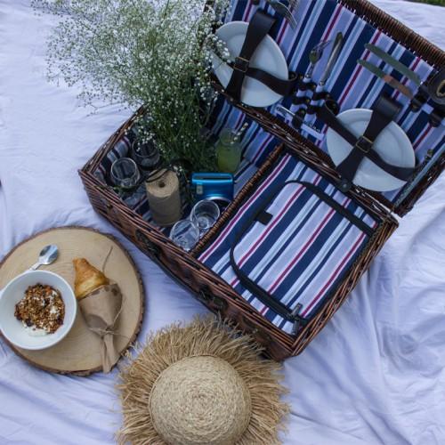 Stil Sahibi Kadınlar ve Onların Piknik Sepetleri