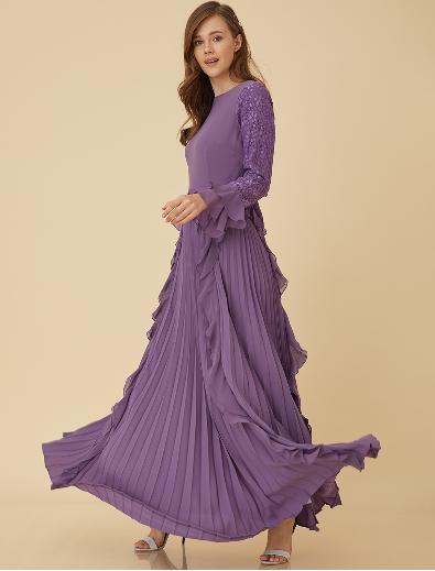 Screenshot_2019-03-07 Dantel Ve Şifon Detaylı Elbise Lila B9 23047 Kayra Online