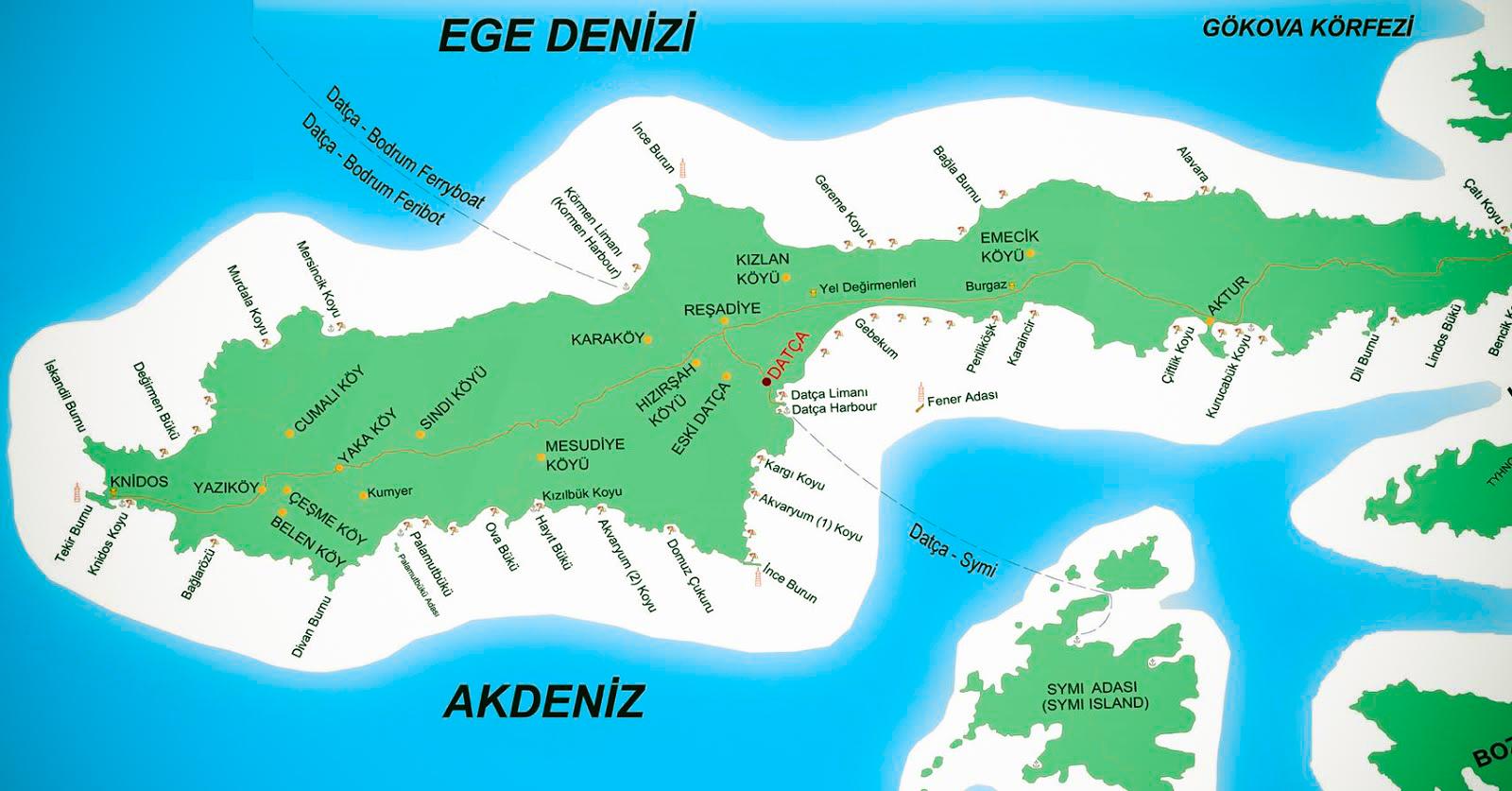 Datca-Haritasi