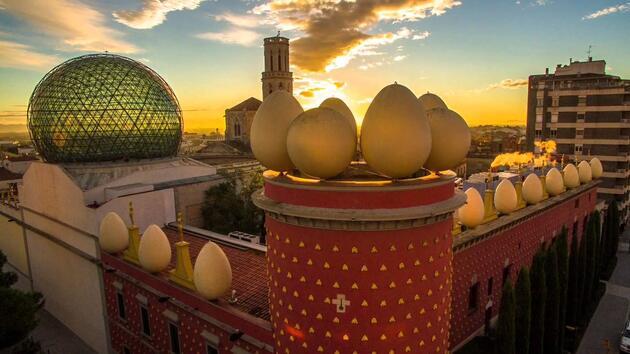 Salvador Dali Müzesi İspanya Sanal Tur